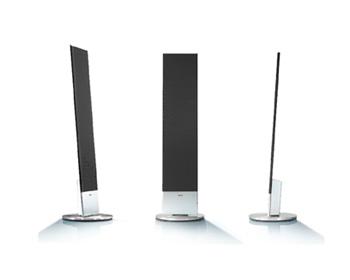 loewe individual sound stand speaker sl. Black Bedroom Furniture Sets. Home Design Ideas